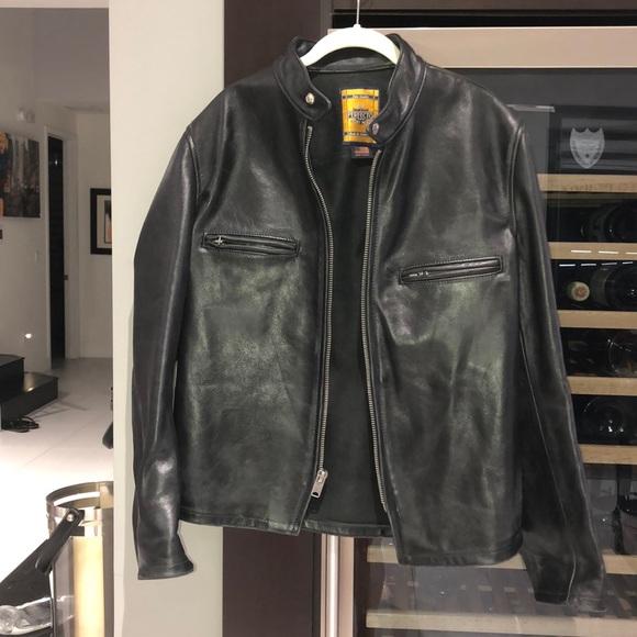 cc15c0d07 Men's Perfecto Schmitt NYC black biker jacket